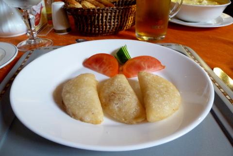 Empanadas de morocho or corn dough empanadas