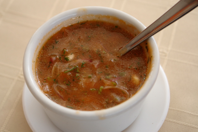 Aji de tomate de arbol or tamarillo hot sauce