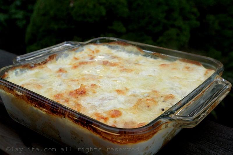 Potato gratin dauphinois recipe