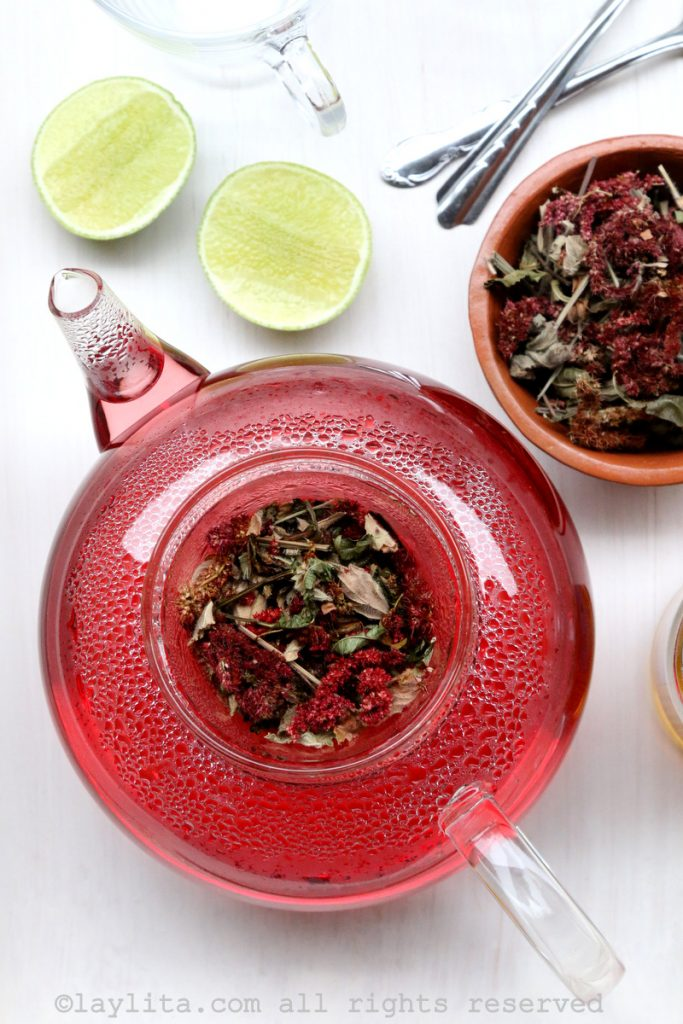 Ecuadorian herbal tea horchata recipe