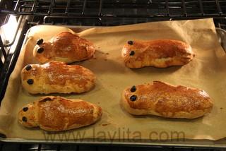 Ecuadorian bread babies or guaguas de pan