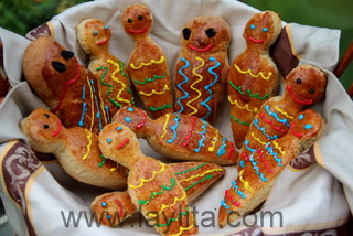 How to make guaguas de pan or bread babies