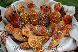 Aprenda a fazer guaguas de pan tipicas do Equador