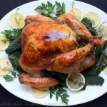 Lemon and thyme roasted turkey recipe