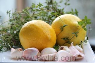 Beurre citronné au thym - étape 2
