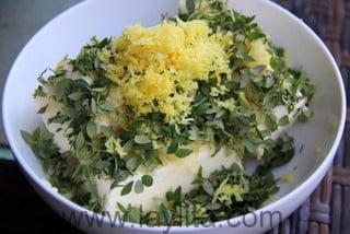 Beurre citronné au thym - étape 3
