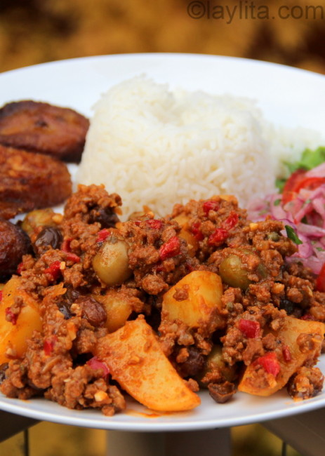 Cuban beef picadillo recipe - Laylita's Recipes