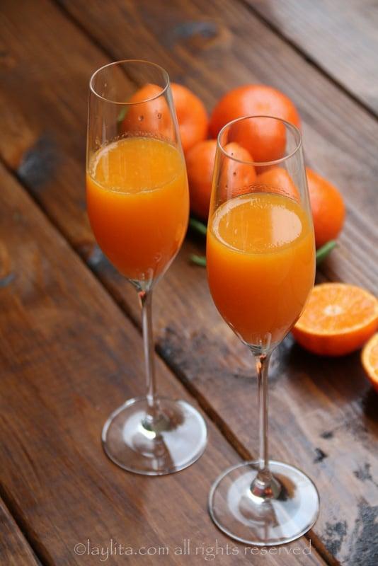 Mimosa de tangerina