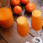 Tangerine or mandarin mimosa