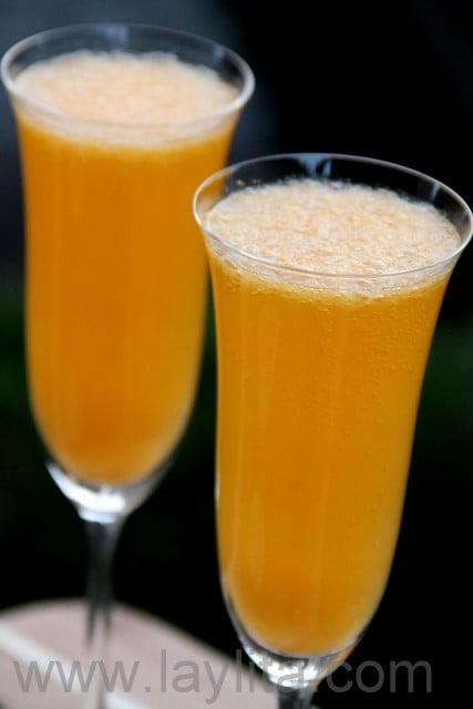 Mandarin Champagne Cocktail