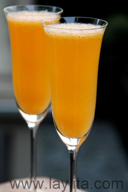 Mandarin mimosa recipe