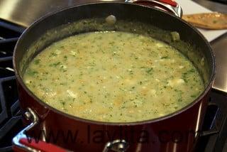 Comment préparer une soupe de bananes vertes 12