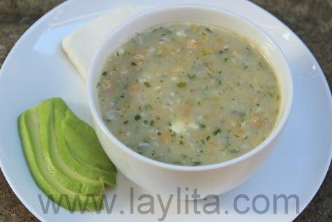 Recette de la soupe de banane verte