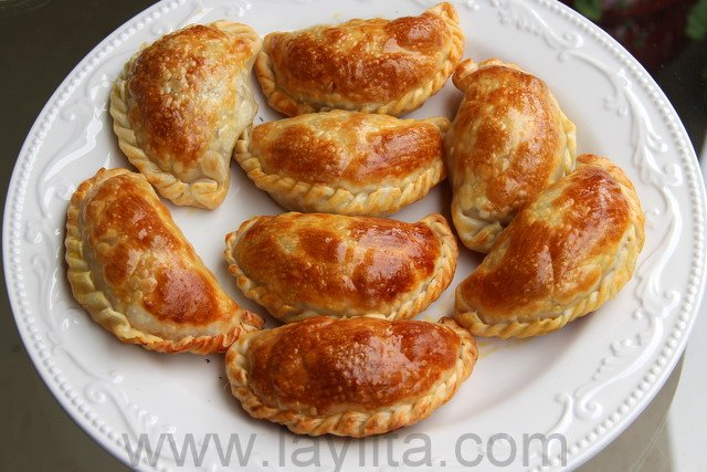 Chicken or turkey empanadas