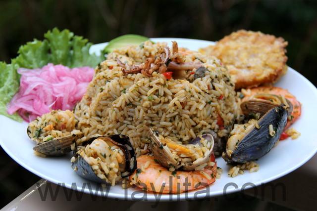 Seafood rice // Arroz marinero / Arroz con mariscos
