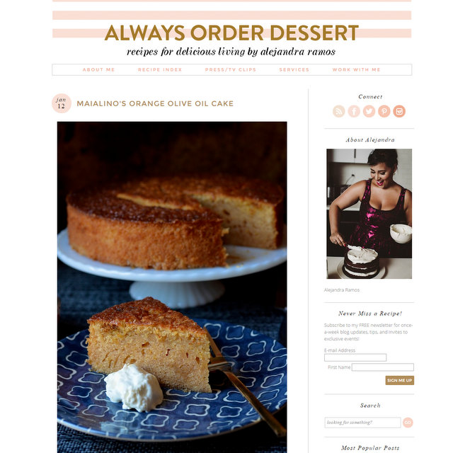 Always Order Dessert food blog