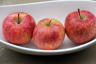 Fresh apples to make apple cake