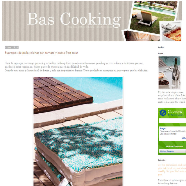 BAs cooking blog