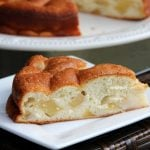 Easy apple cake recipe with only 4 ingredients