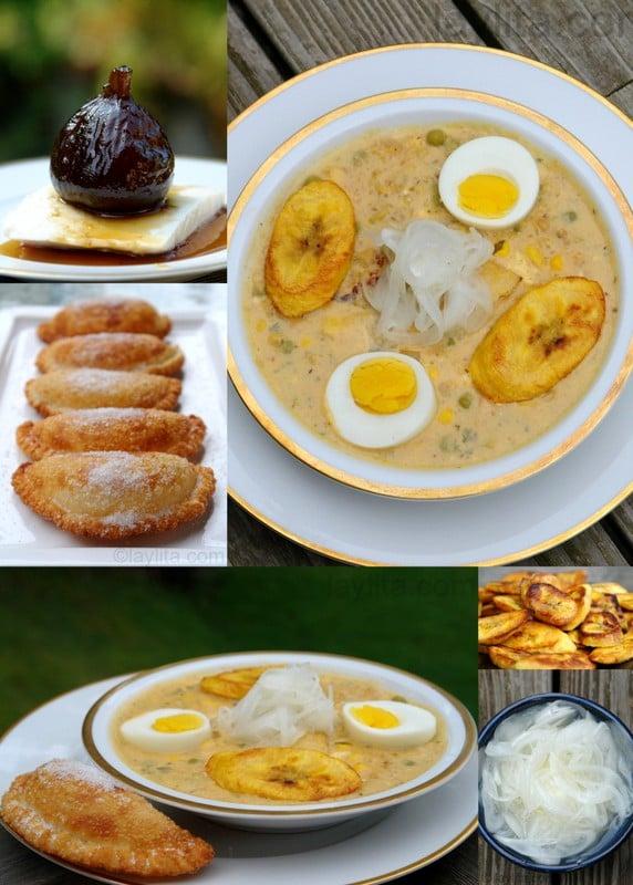 Ecuadorian Easter dishes