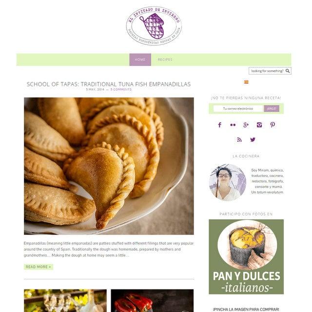 El invitado de invierno food blog