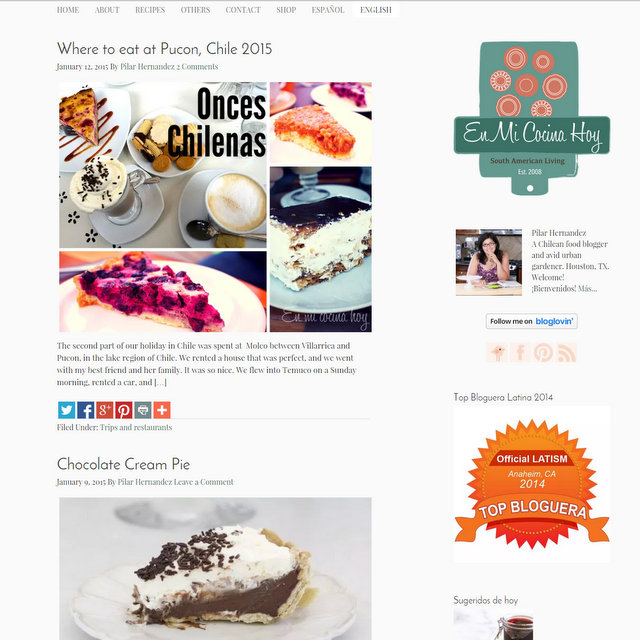 En Mi Cocina Hoy blog