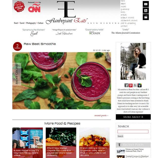 Flanboyant Eats blog