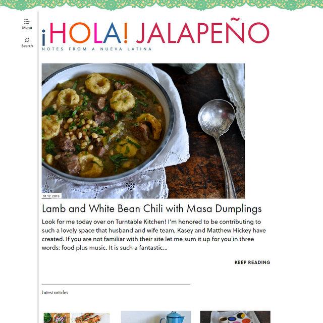 Hola Jalapeño food blog