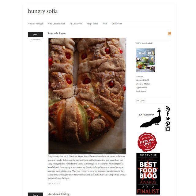 Spanish and latin food blogs hungry sofia food blog forumfinder