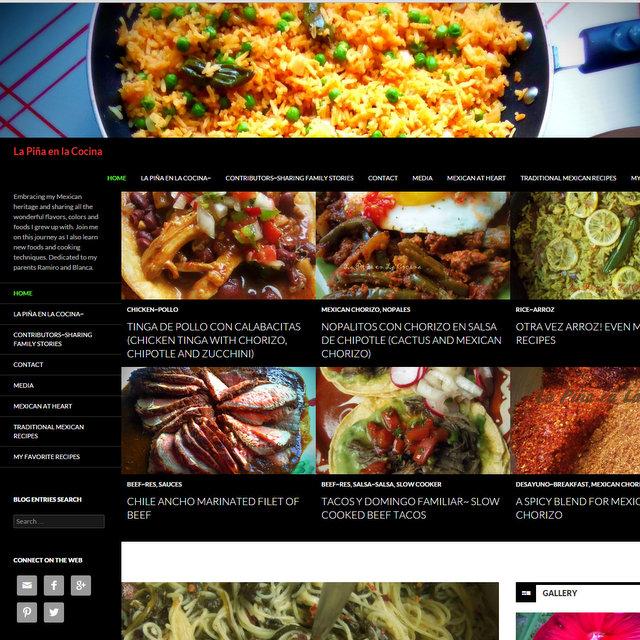 La Piña en la Cocina blog