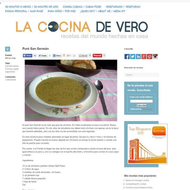 La cocina de Vero blog