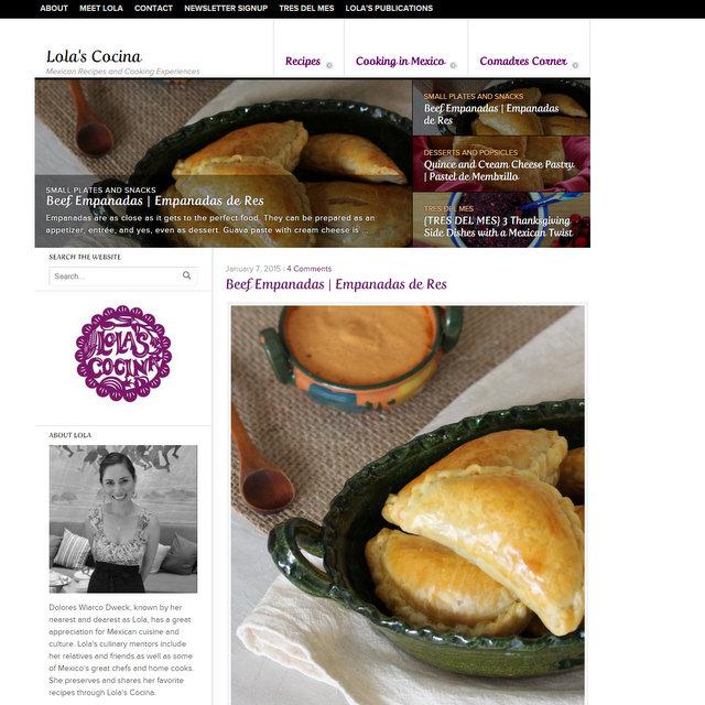 Lola's Cocina food blog