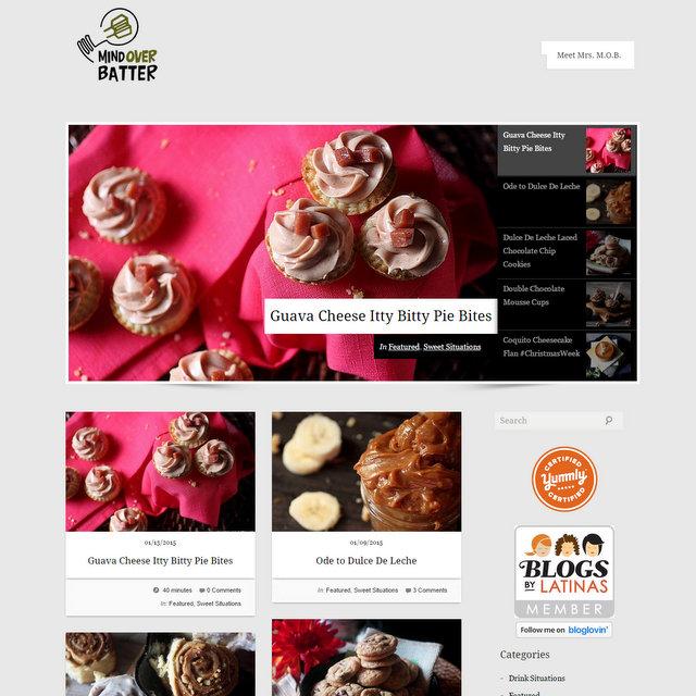 Mind Over Batter food blog