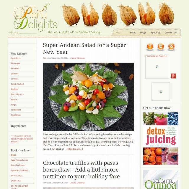 Spanish and latin food blogs peru delights food blog forumfinder Images