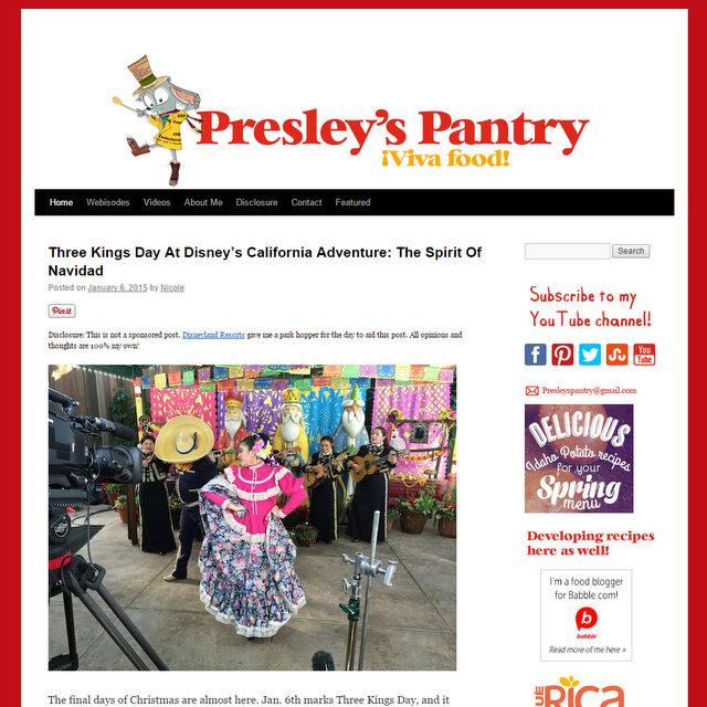 Presley's Pantry food blog