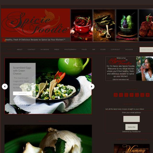Spicie Foodie blog