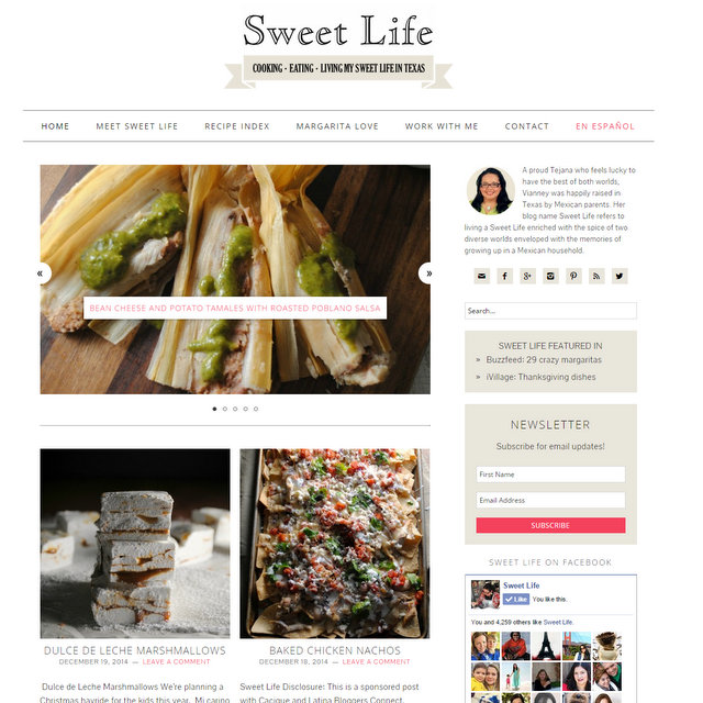 Sweet Life food blog