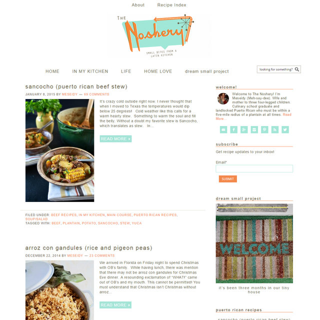 The Noshery food blog