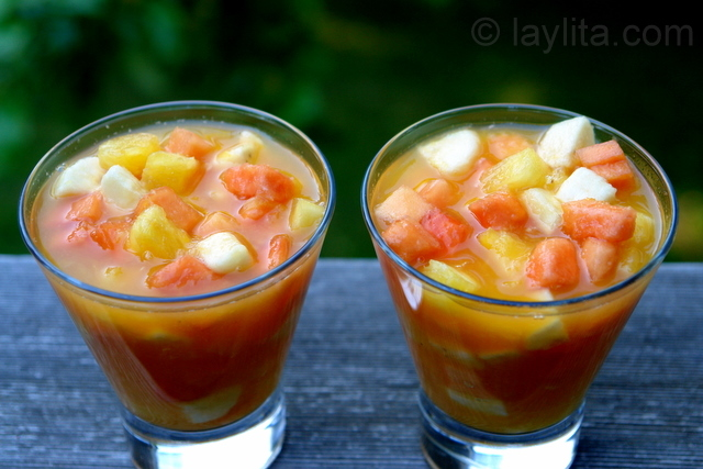 Ecuadorian fruit salad recipe