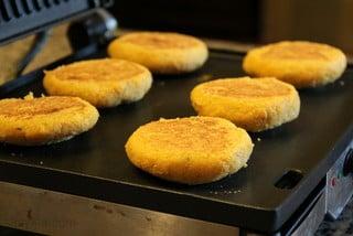 Recette des galettes au maïs fourrées - étape 14