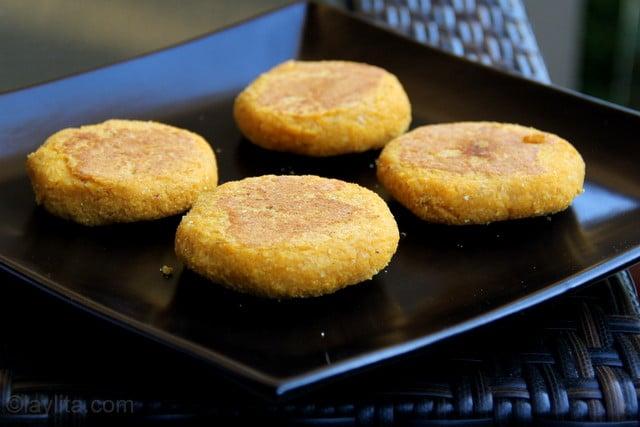 Recette des galettes au maïs fourrées - étape 15