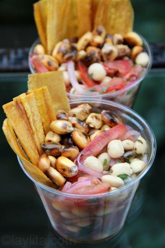 Chocho ceviche recipe