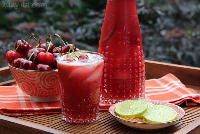 Comment faire de la limonade à la cerise