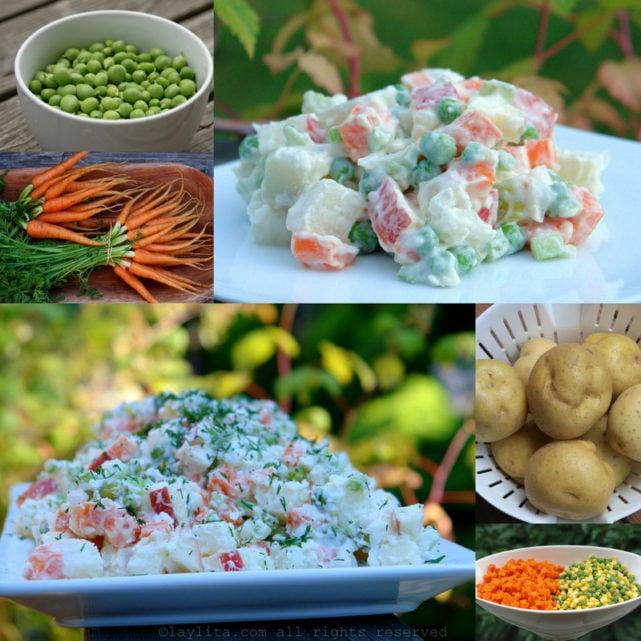 Ensalada rusa potato salad recipe