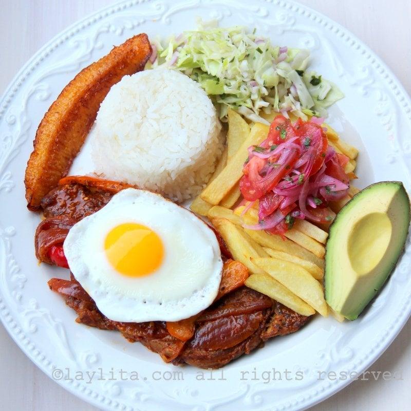 Ecuadorian churrasco