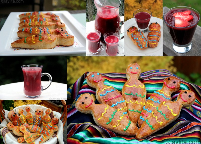 Traditional Food for Day of the Dead in Ecuador