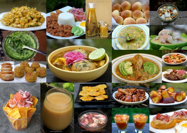 Ecuadorian recipes