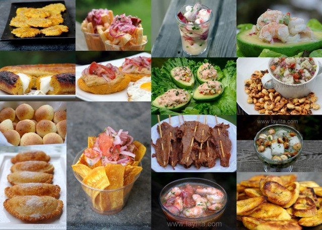 Different food and snacks