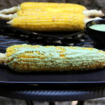 Grilled corn or choclos asados