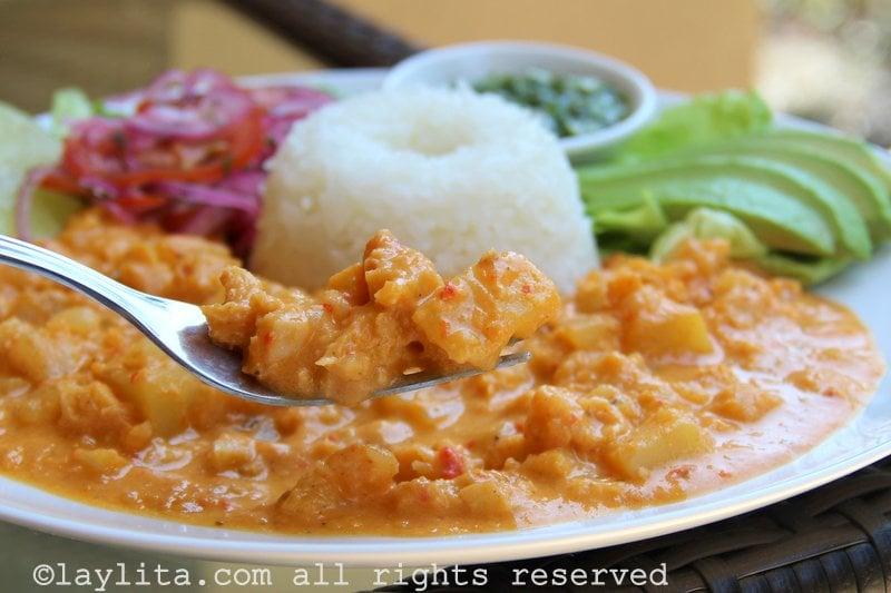 Guatita tripe stew